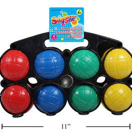 Summer Zone Ensemble de 9 balles pour pétanque