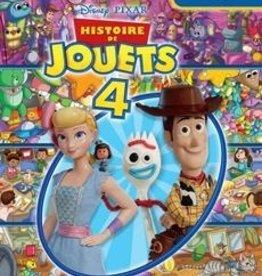 PRESSES AVENTURE Histoire de jouets 4 - Cherche & trouve