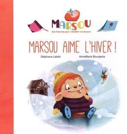 Mammouth Rose Marsou aime l'hiver!