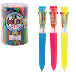Schylling Stylo 10 couleurs