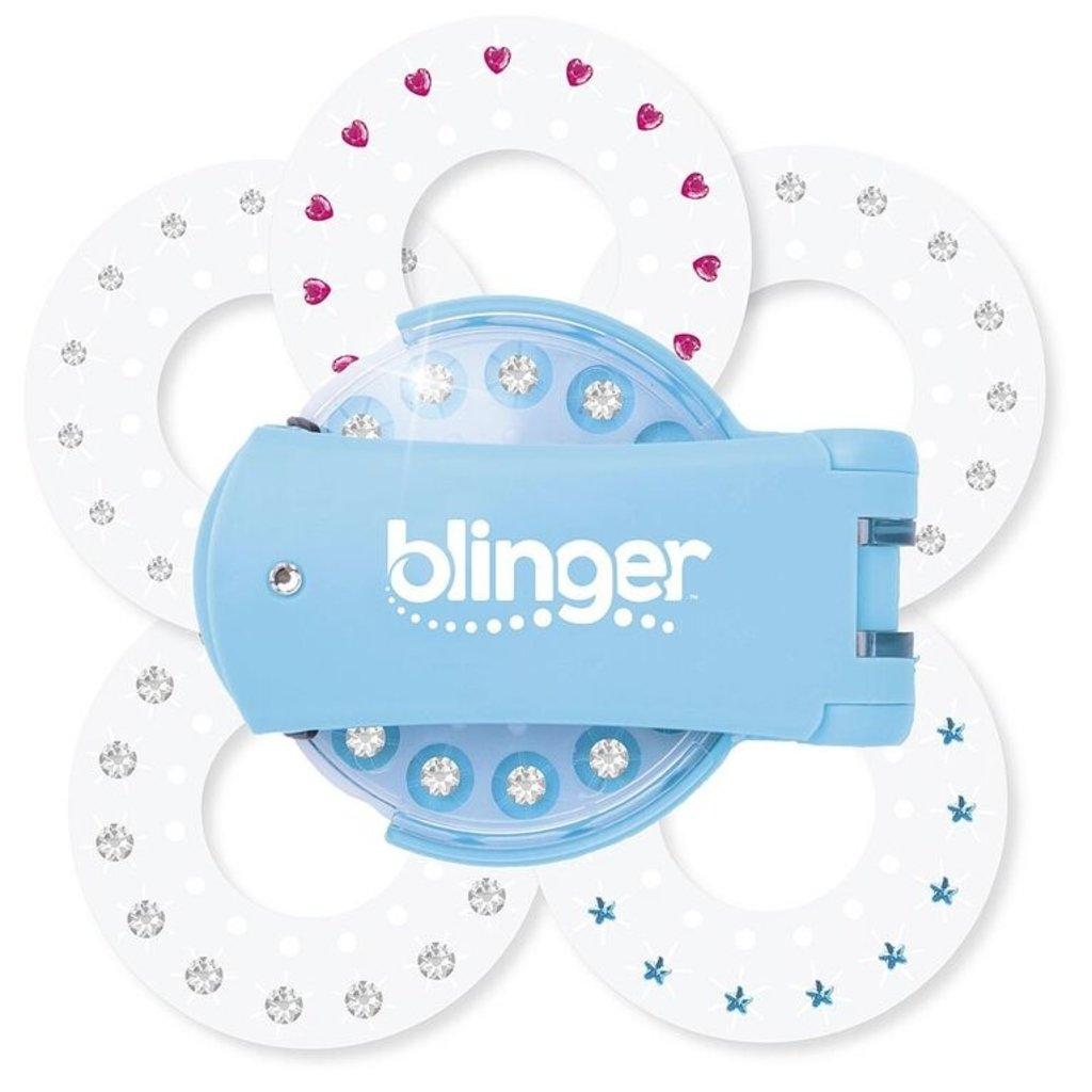 Incredible novelties Blinger - Kit de démarrage - Collection de diamants - bleu.