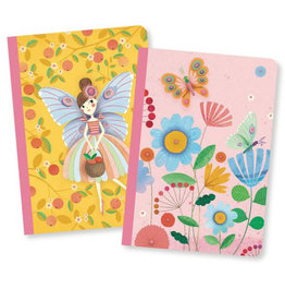 Djeco Lovely paper Petits carnets Rose 2 carnets