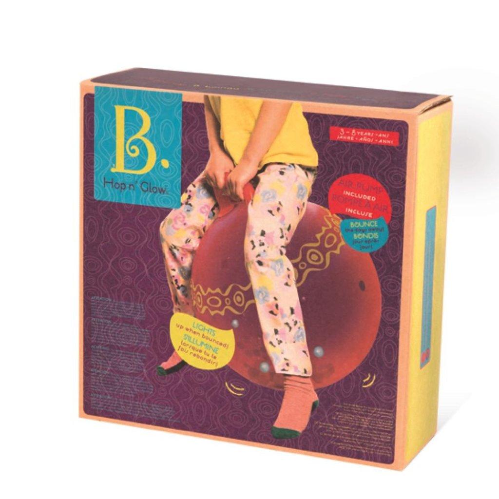 B. Active Ballon sauteur Hop n'Glow rouge
