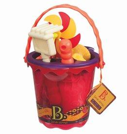 B. Active Chaudière et accessoires Sand Ahoy! rouge