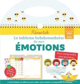 Editions 365 Le tableau hebdomadaire de mes émotions sept. 2019-août 2020