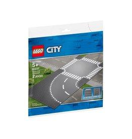 Lego 60237 Virage et carrefour