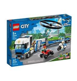 Lego 60244 Le transport de l'hélicoptère de la police
