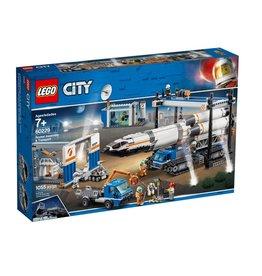 Lego 60229 L'assemblage et le transport de la fusée
