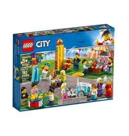 Lego City 60234 Ensemble de figurines - Fête foraine