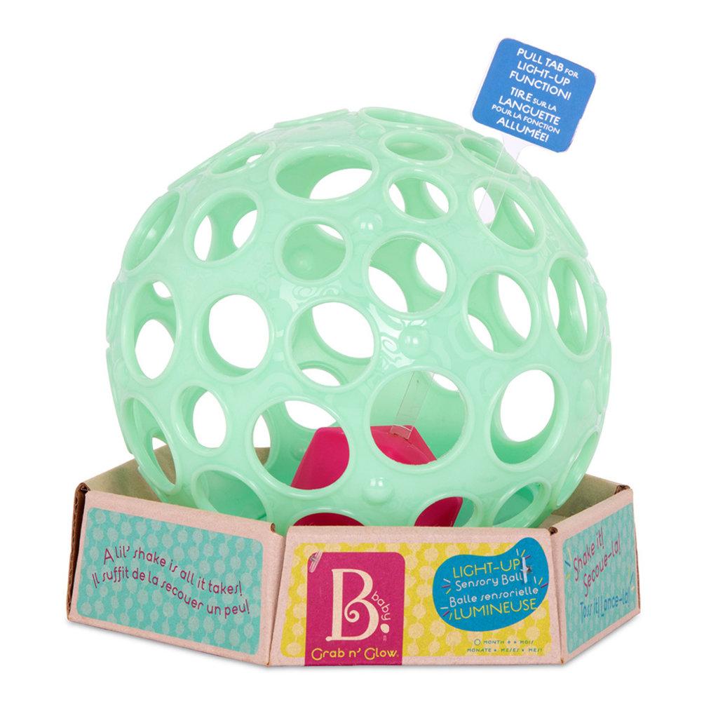 B. B.Baby - Balle lumineuse Grab n' Glow