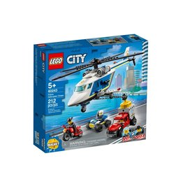 Lego 60243 L'arrestation en hélicoptère