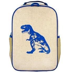 SoYoung Sac à dos d'école Dino bleu