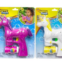 Sunny Dayz Fusil à bulles Licorne