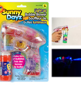 Sunny Dayz Souffleur à bulles lumineux
