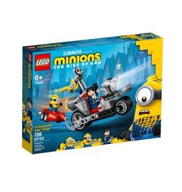 Lego Minions 75549 La course-poursuite en moto