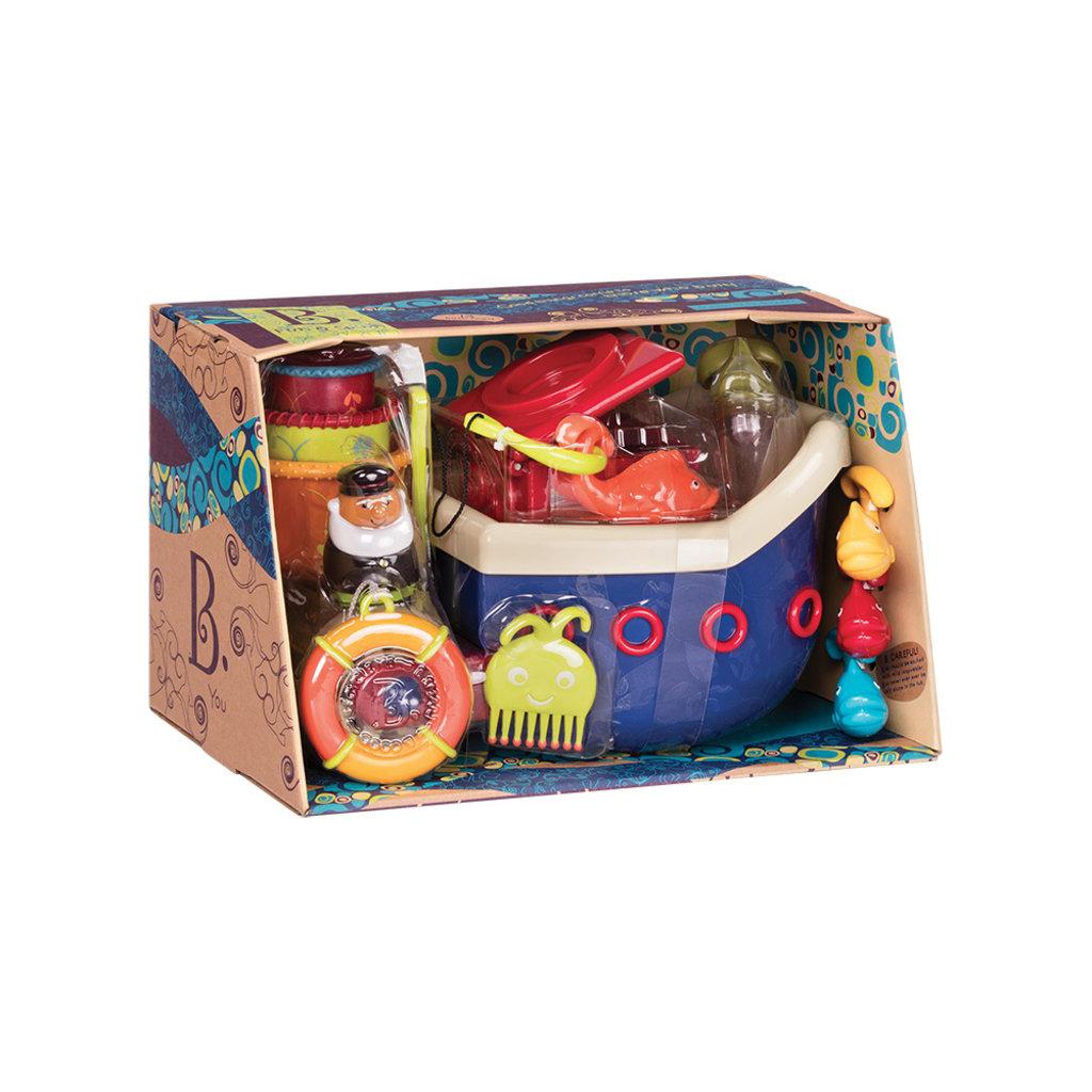 Battat Toys Bateau de pêcheur Fish & Splish