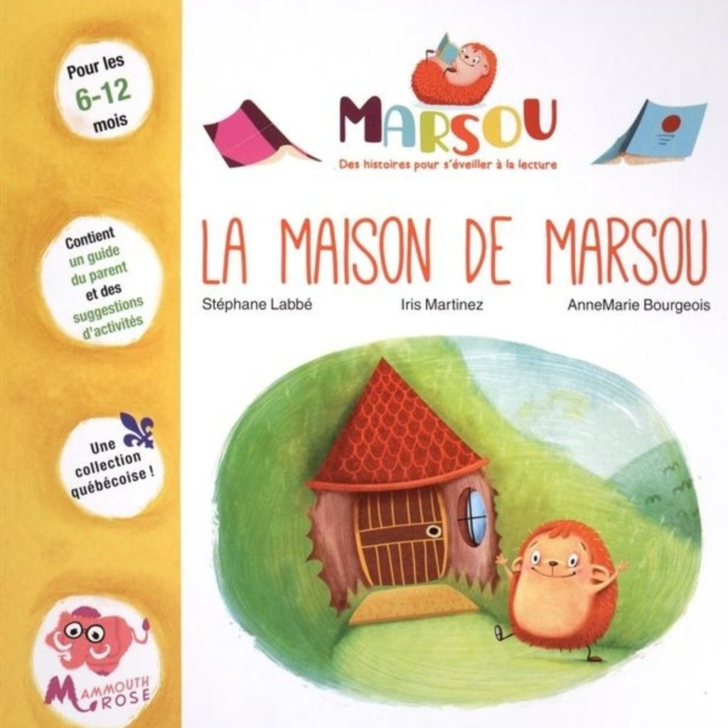 Mammouth Rose La maison de Marsou