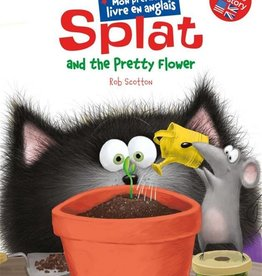 NATHAN Splat and the prettyt flower''mon premier livres anglais''