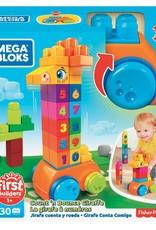 Mega Bloks La girafe à numéros