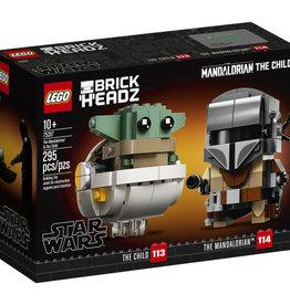 Lego Star wars 75317  Le Mandalorien et l'Enfant