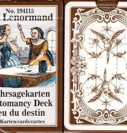 Piatnik Cartomancy deck,Mlle Lenormand
