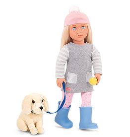 Our Generation Poupée Meagan avec chien