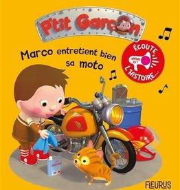 Fleurus Marco entretient bien sa moto
