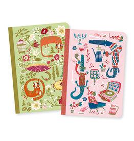 Djeco Lovely paper Petits carnets Asa 2 carnets