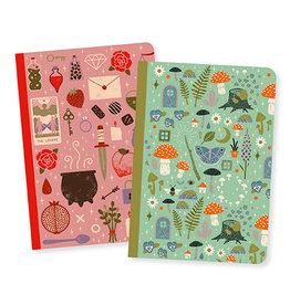 Djeco Lovely paper Petits carnets Camille 2 carnets