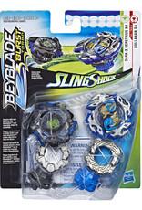 Hasbro Beyblade Burst Turbo Slingshock Dark-X Nepstrius N4 et Dullahan D4
