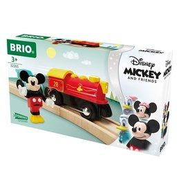 Brio Train à pile Mickey Mouse