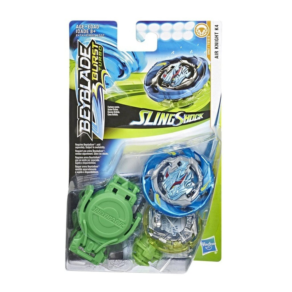 Hasbro Beyblade Burst Turbo Slingshock Kit de départ Air knight