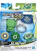 Hasbro Kit de départ Beyblade Burst Slingshock Rip Fire Forneus F4