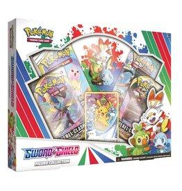 The Pokemon Company Sword&shield coffret figure collection