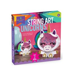 Craft tastic Stacked string art unicorn