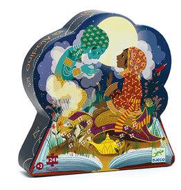 Djeco Puzzle silhouettes Aladin