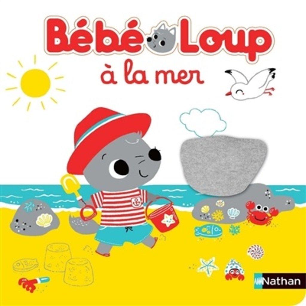 NATHAN Bébé loup à la mer
