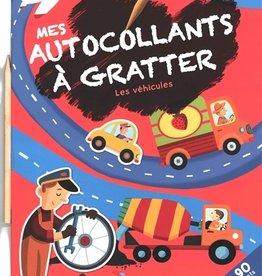 Yoyo Books Mes autocollants à gratter- Les véhicules
