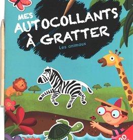 Yoyo Books Mes autocollants à gratter - Les animaux