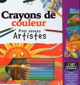 Spicebox Crayons de couleur pour jeunes artistes