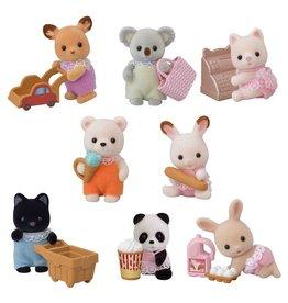 Calico Critters Sac surprise - Série Shopping pour bébé