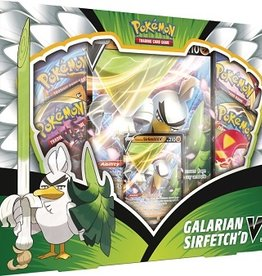 The Pokemon Company Pokemon coffret Galarian sirfetch'd