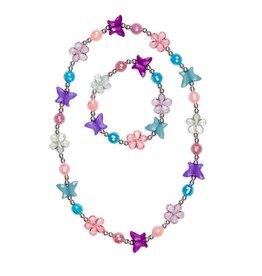 Great Pretenders Ensemble collier et bracelet papillon