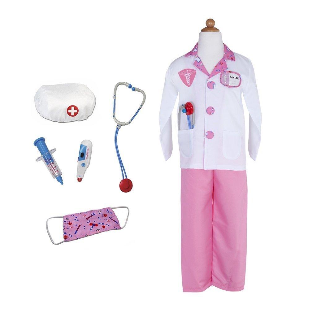 Great Pretenders Costume médecin rose