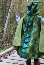 Great Pretenders Cape verte de dragon avec griffes taille 4-6