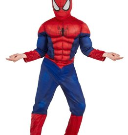 Rubie's Déguisement Spider-Man Deluxe Muscle Chest