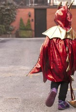 Great Pretenders Costume-Cape dragon rouge 3-4 ans