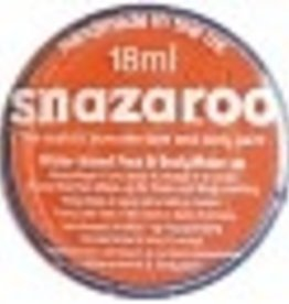 Snazaroo Snazaroo Pastille de maquillage orange 18ml