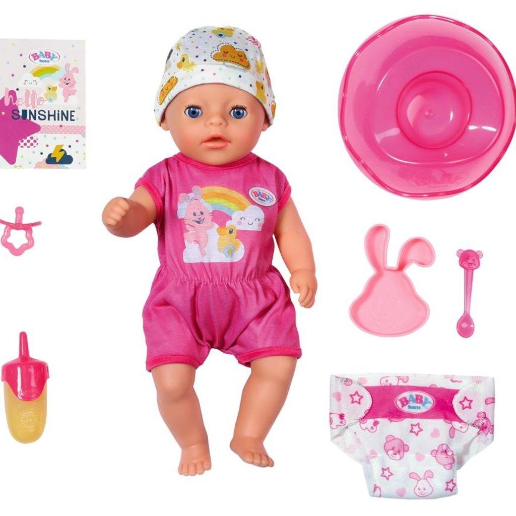 Zapf creation Baby born -Petite fille 36 cm
