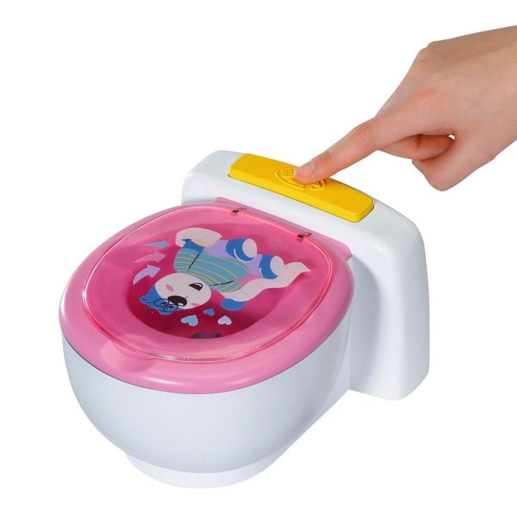 Zapf creation Baby born - Toilette interactive Poo-Poo